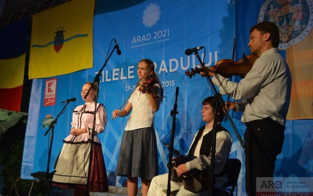 Testvérvárosok- Aradi fellépés 2015. 08. 18.
