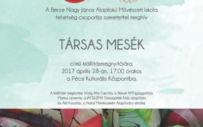 2017. április 28.: Kézműves kiállításmegnyitó – Meghívó
