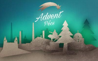 Növendékeink karácsonyi koncertjével vette kezdetét a VII. Pécsi Adventi Kézműves és Mesevásár (2017. december 1.)