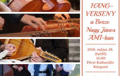 Évzáró hangverseny a Berzében 2018. május 28-án (hétfőn) 15.00 órakor