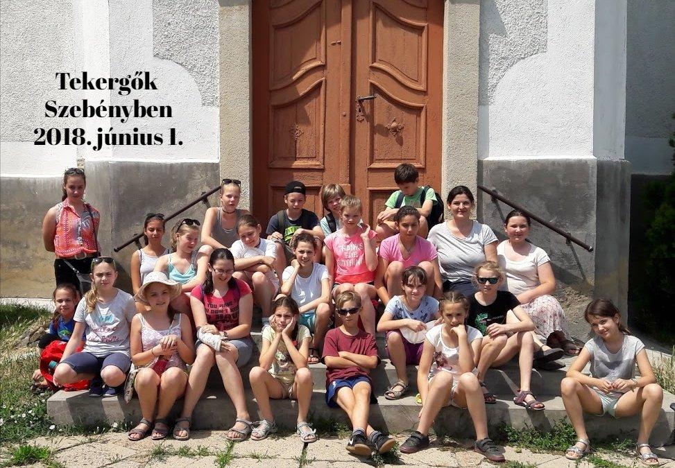 Tekergők tanulmányútja Szebényben (2018. június 1.)