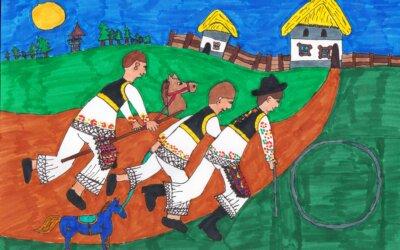 Újabb berzés sikerek az országos horvát nemzetiségi rajzpályázaton