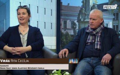 Berze AMI és a Mecsek Táncegyüttes a Pécs TV-ben