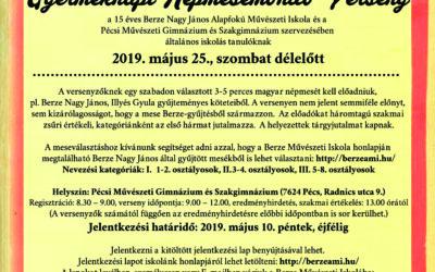 Gyermeknapi Népmesemondó Verseny 2019. május 25.