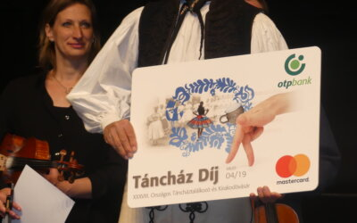OTP Bank Táncház Díjat kapott pedagógusunk, Radák János!